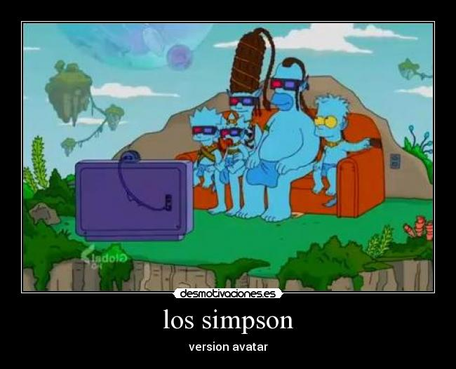 los simpson - version avatar