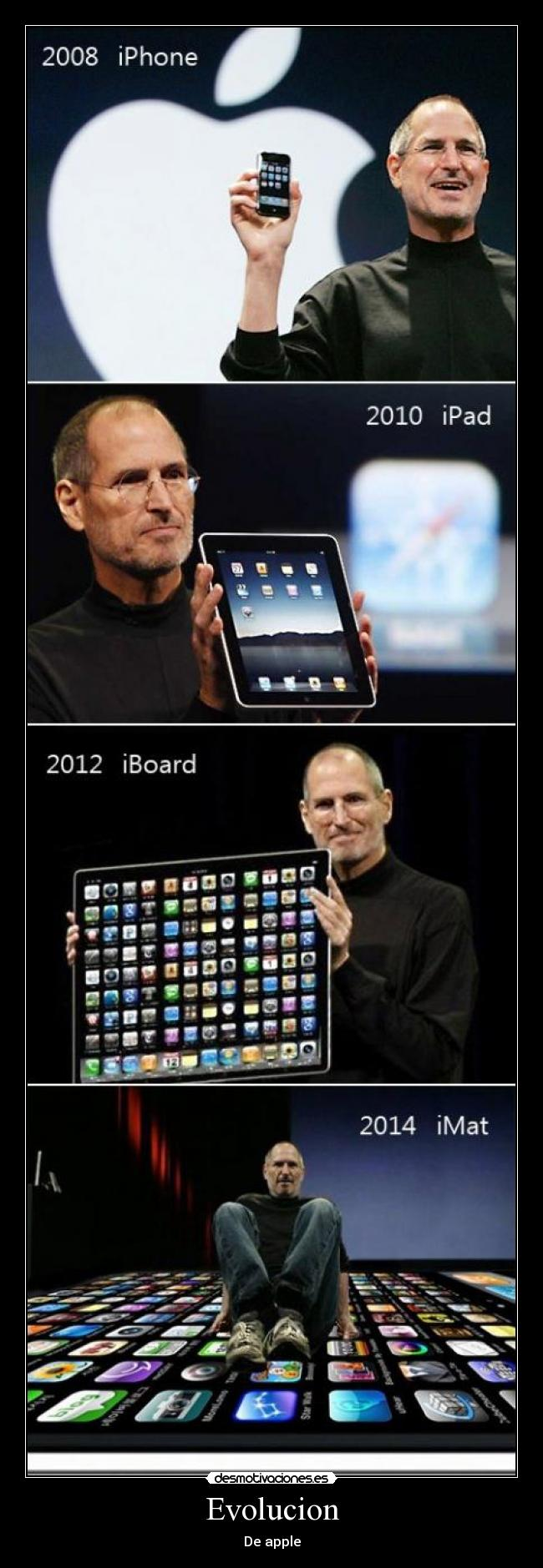 Evolucion - De apple