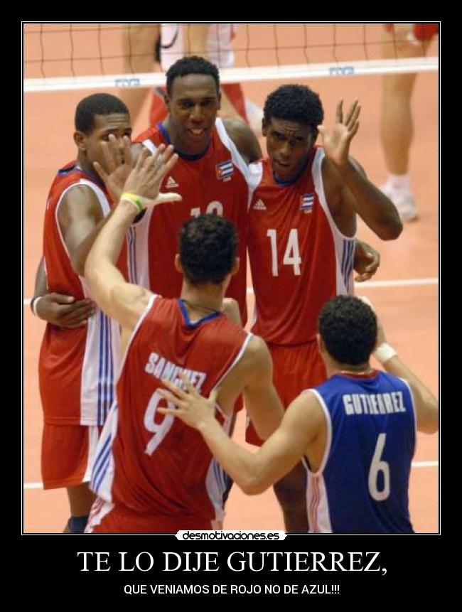 carteles voleibol desmotivaciones