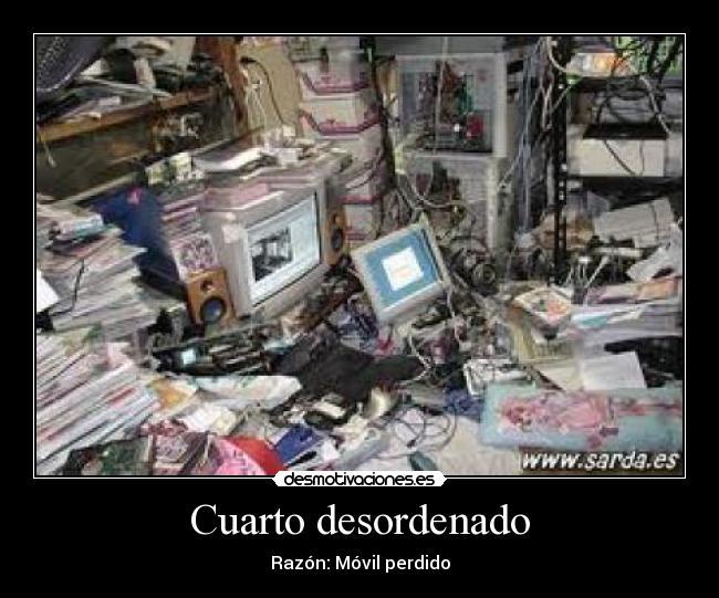 cuarto desordenado pictures