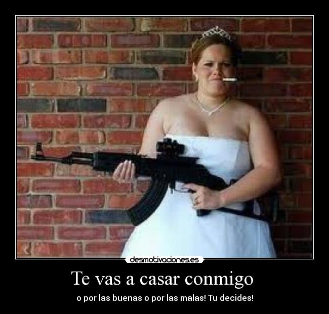 Te vas a casar