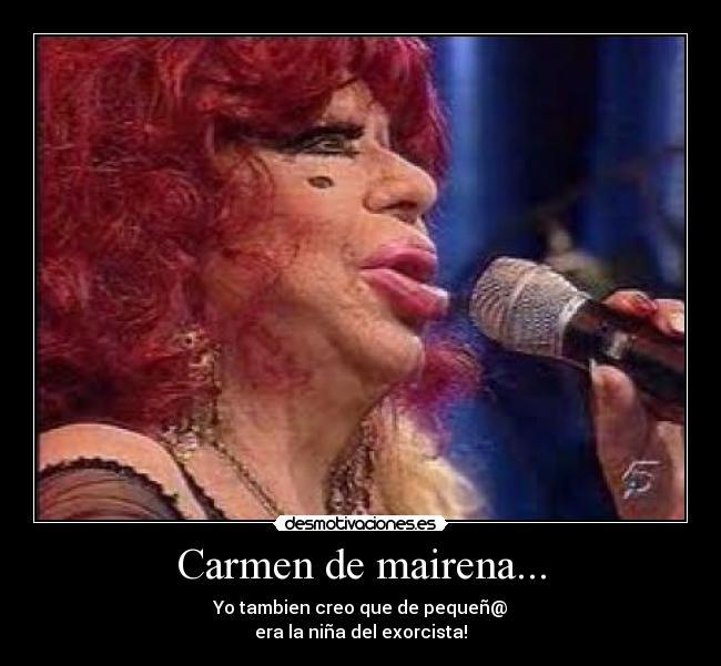 Carmen De Mairena Desmotivaciones