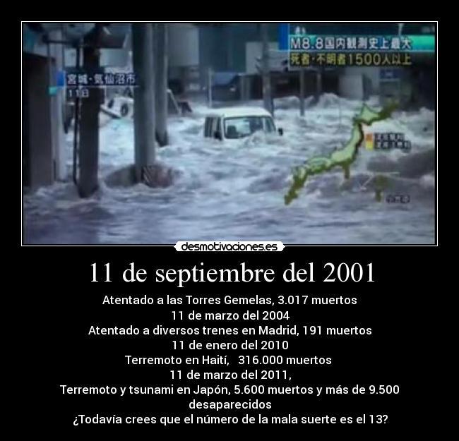 11 de septiembre 2004: