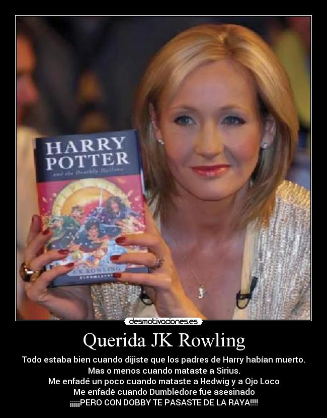 carteles rowling harry potter dobby dumbledore hedwig ojo loco sirius desmotivaciones
