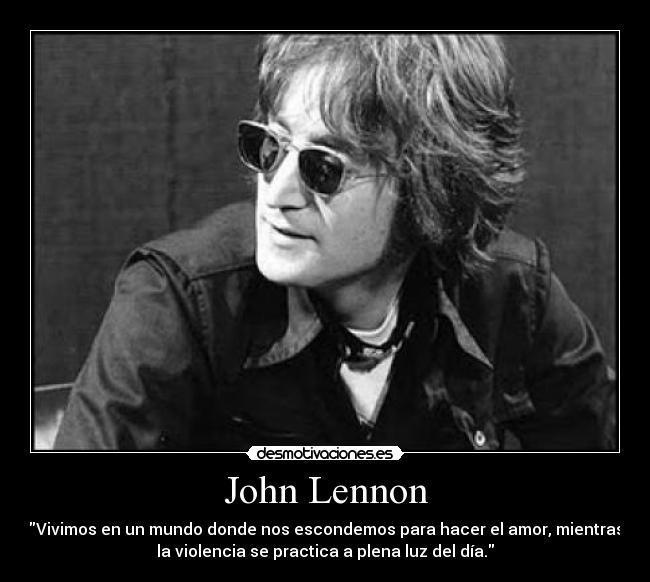 John Lennon Desmotivaciones