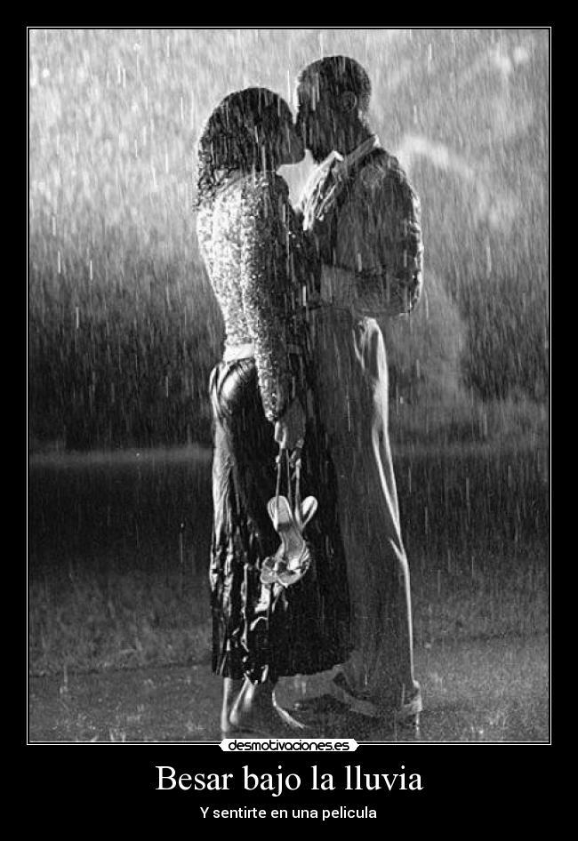 sexo bajo la lluvia