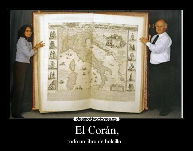 El coran es libro sagrado del islam que para los - Que es el corian ...