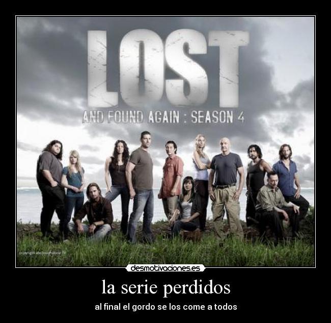 la serie perdidos desmotivaciones