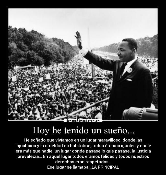 Biblioteca Solidaria Martin Luther King Tengo Un Sueno