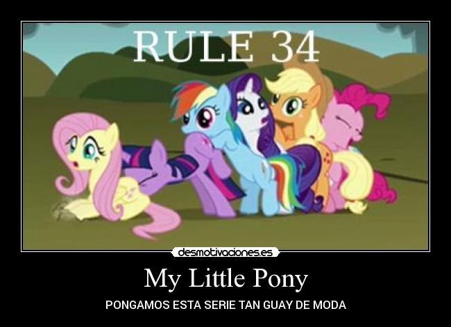 rule 34 mlp