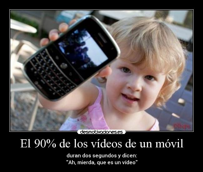 carteles twitter nino camara video fotos movil video movil telefono movil desmotivaciones