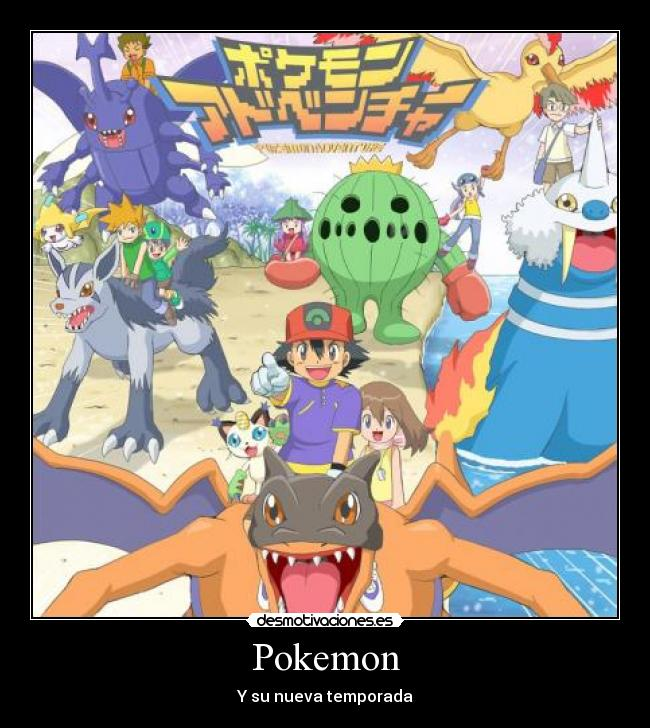 Pokemon - Y su nueva temporada