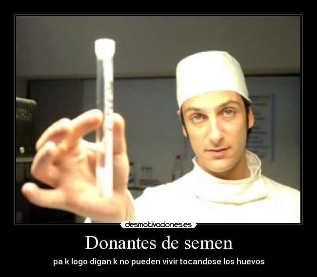 Donacin de Semen o Esperma - Instituto Bernabeu