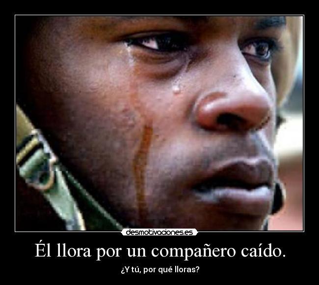 un hombre solo llora por amor