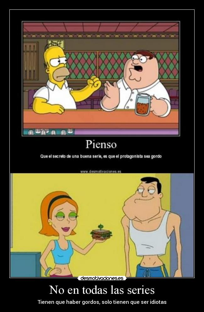 carteles simpsons cartel the american dad family guy padre familia desmotivaciones