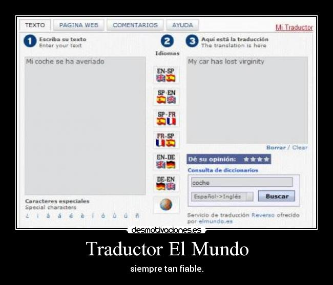 mundo es traductore: