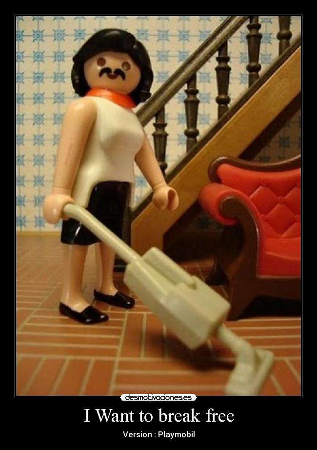 I Want to break free - Version : Playmobil