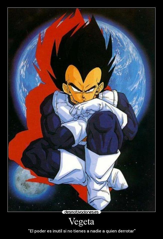 Lo que me enseño Goku. Vegetadbz