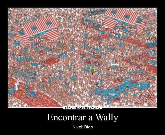 Encontrar a Wally - Nivel: Dios
