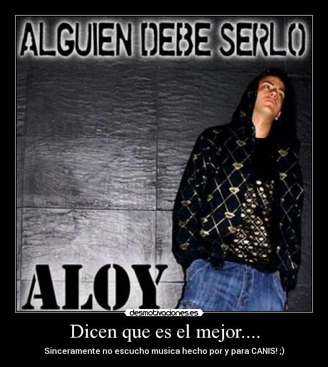 Aloy - Alguien debe serlo lbum Hip Hop Groups