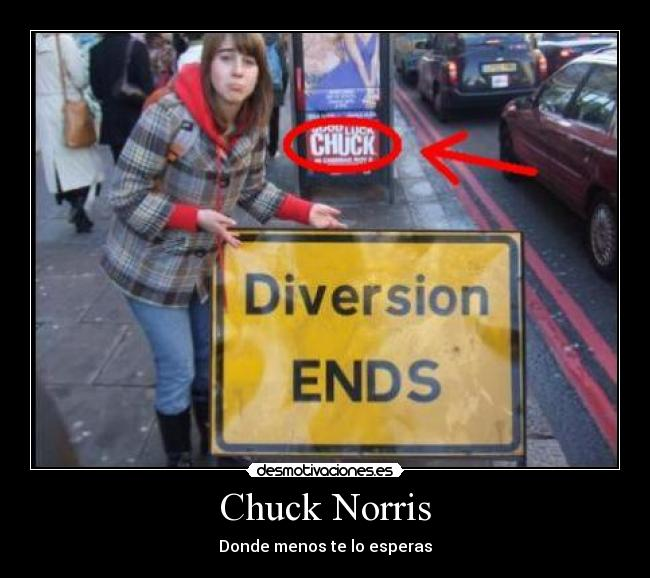 Chuck Norris - Donde menos te lo esperas