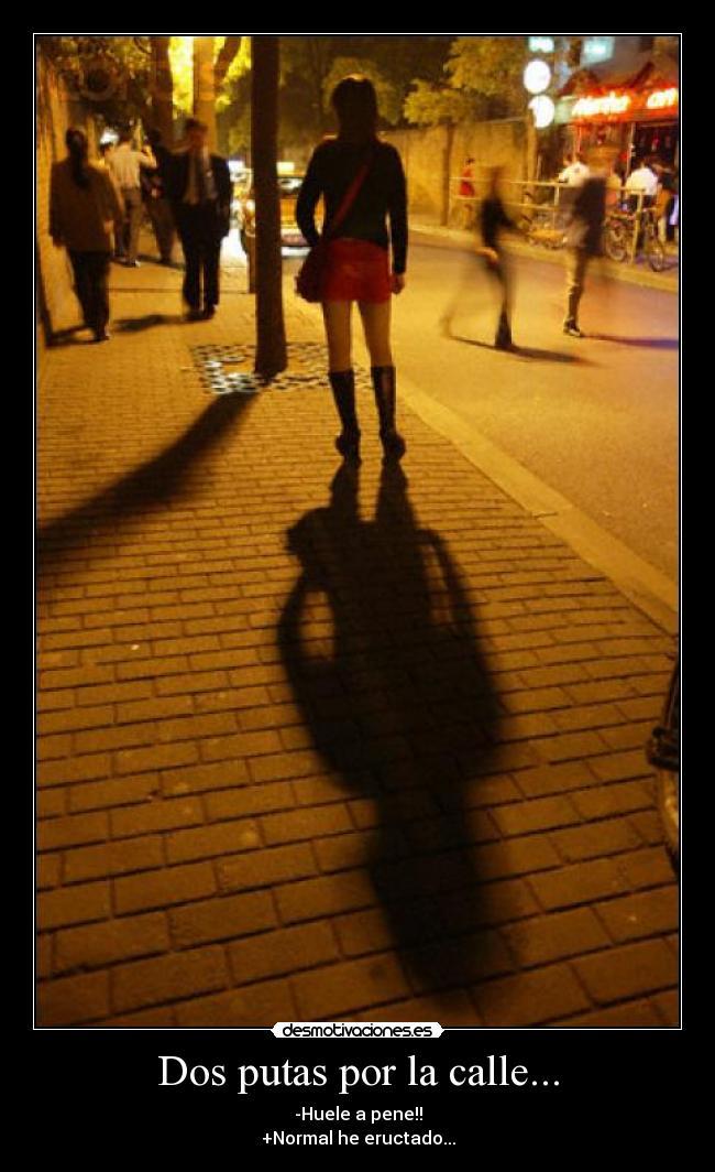 dos prostitutas putas de calle