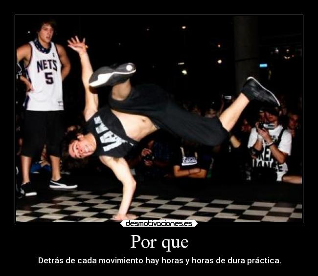 carteles break dance desmotivaciones