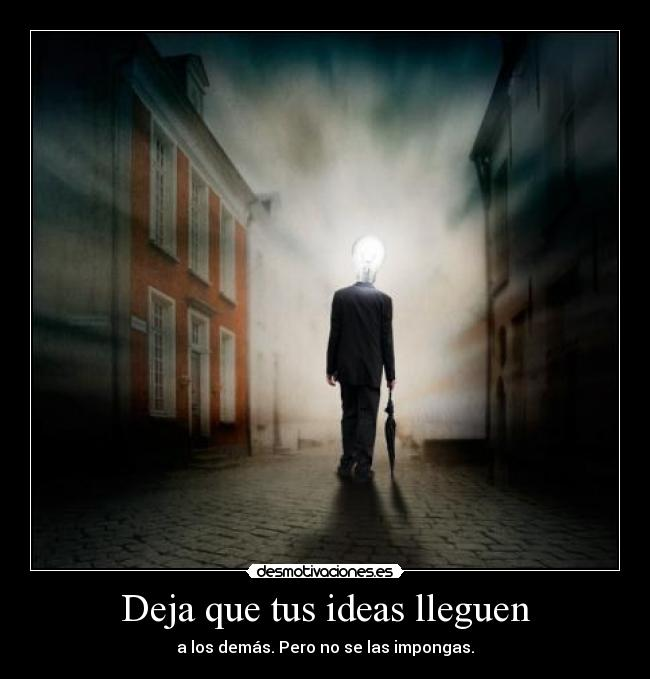 carteles ideas ideas zorra implakable desmotivaciones