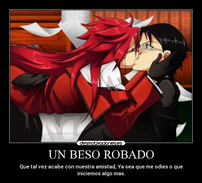 carteles grell sutcliff kuroshitsuji william spears desmotivaciones
