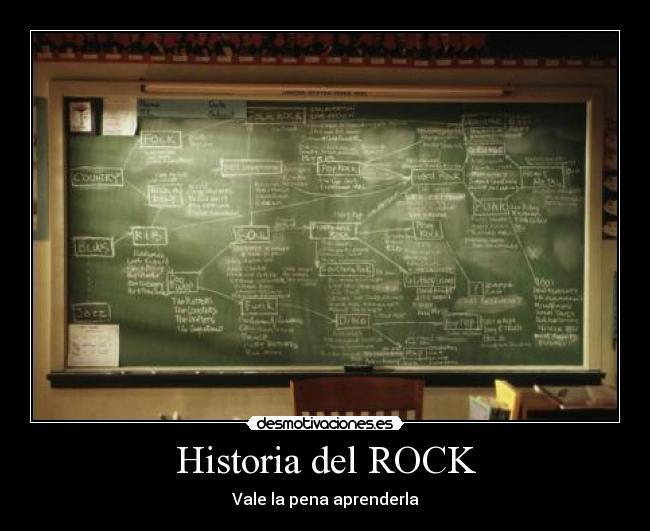 Historia del rock desmotivaciones for Espectaculo historia del rock
