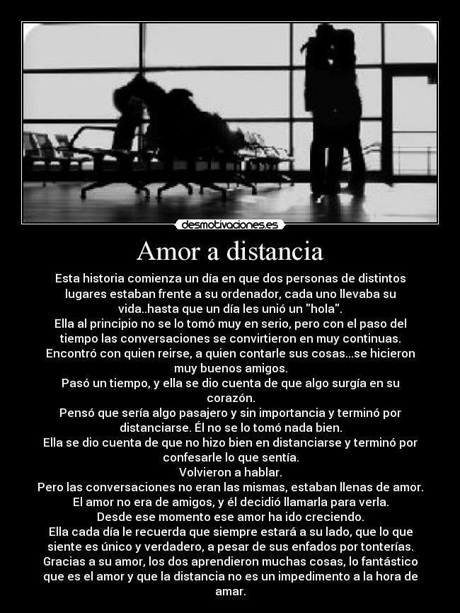 carteles amor distancia amor distancia desmotivaciones