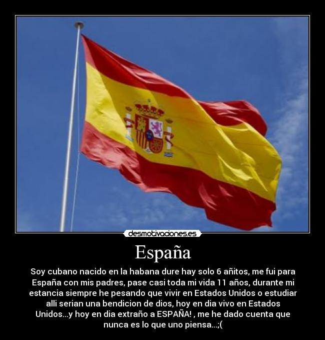 carteles espana espana estados unidos vuelo libertad nacionalidad desmotivaciones