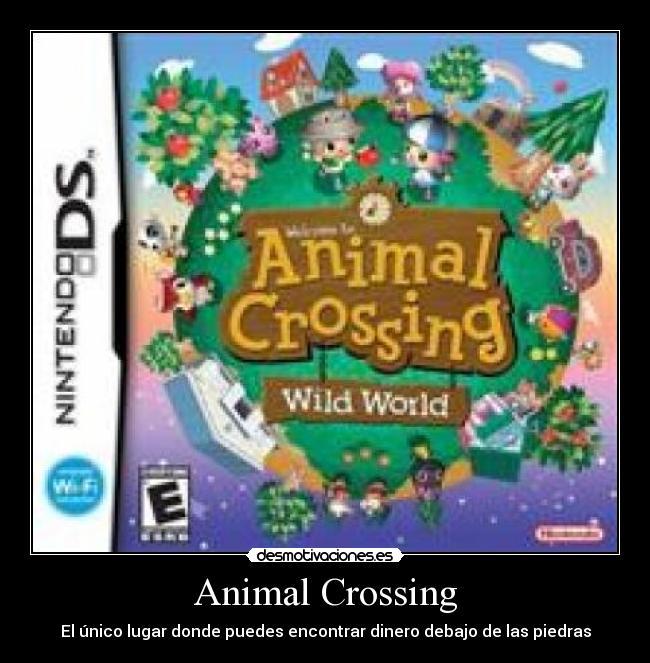 Animal Crossing - El único lugar donde puedes encontrar dinero debajo de las piedras