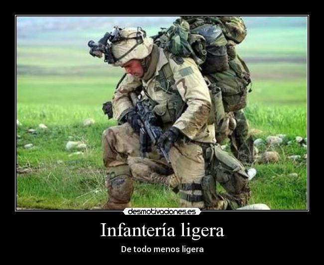 infanteria es: