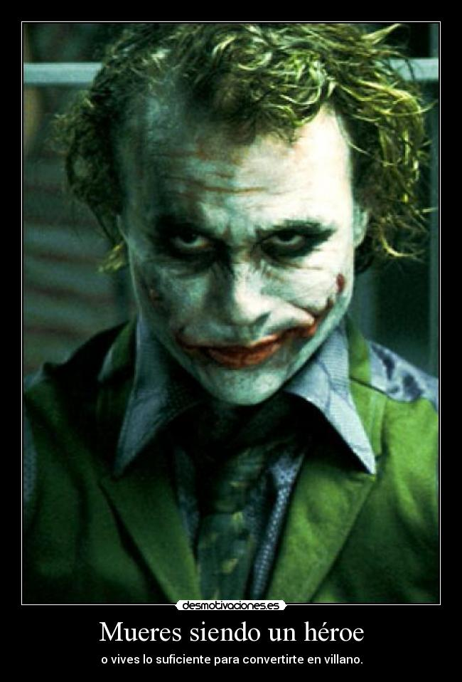 carteles the joker the dark knight desmotivaciones