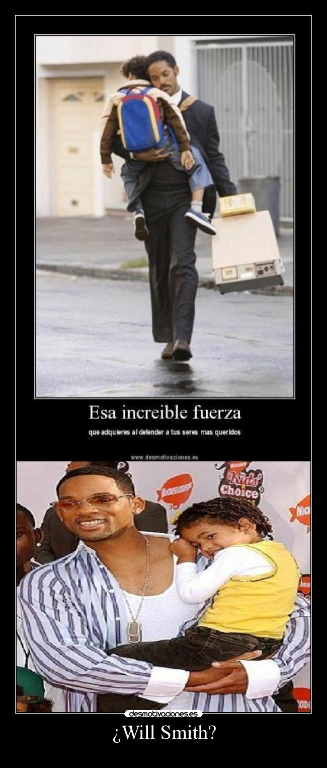 ¿Will Smith? -