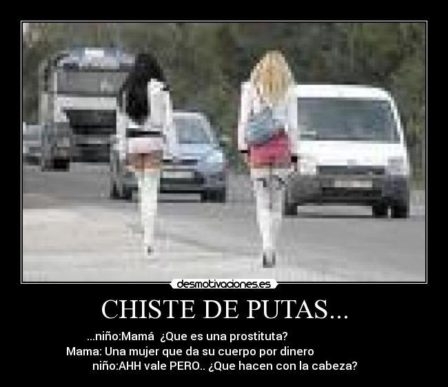 chistes de prostitutas prostitutas en vallecas