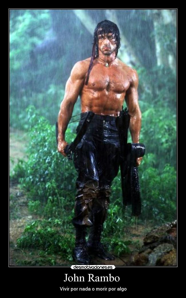 John Rambo Desmotivaciones