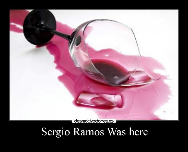 Sergio Ramos Was here -