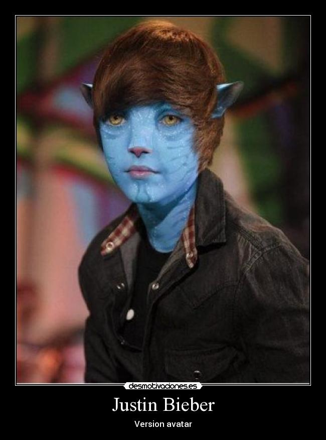 Justin Bieber - Version avatar