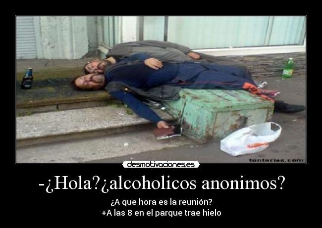 Las revocaciones sobre los curadores del alcoholismo