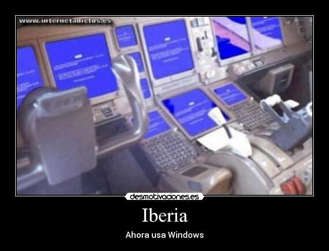 Iberia - Ahora usa Windows