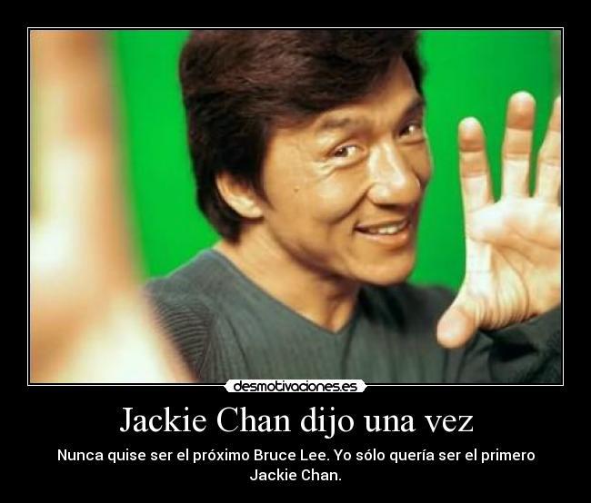 carteles jackie chan otro gran maestro artes marciales desmotivaciones