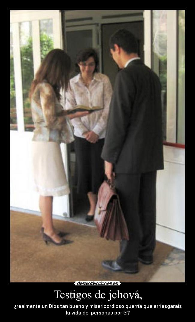 Carteles y Desmotivaciones de testigos