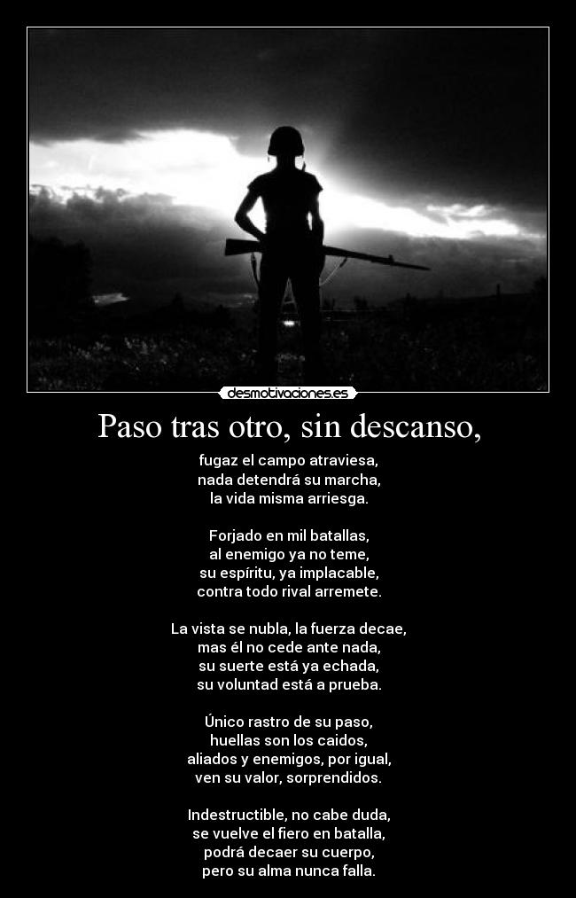 carteles poema tonysd indestructible disturbed desmotivaciones