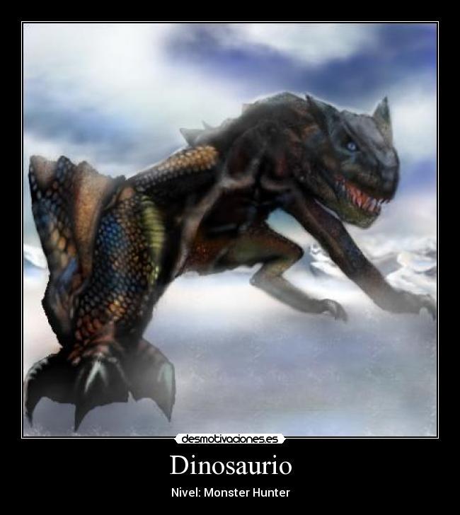 M Tigrex Tail Dinosaurio | Desmotiva...