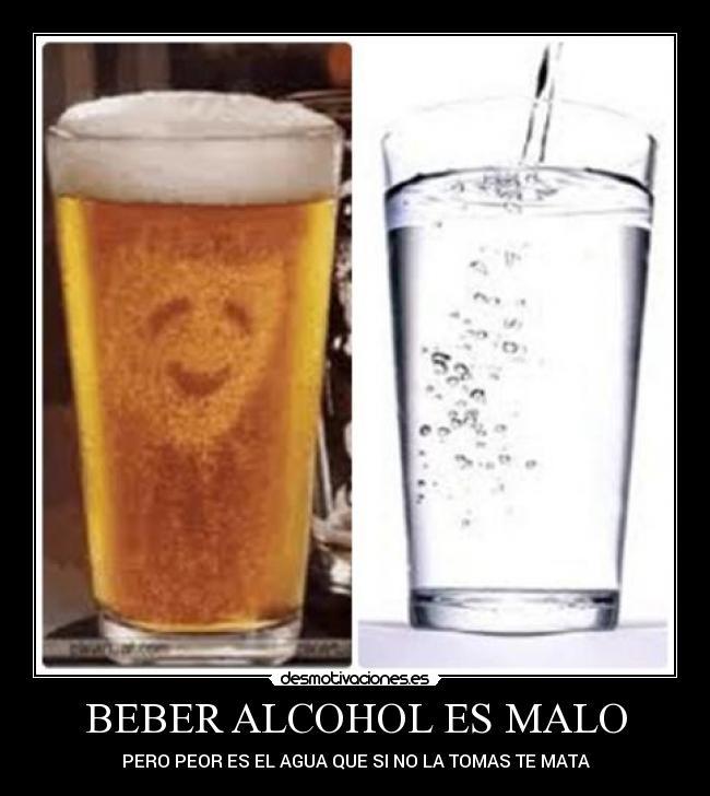 Las revocaciones sobre el tratamiento del alcoholismo chemerichnoy por el agua