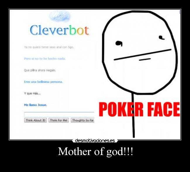 Mother of god!!! -