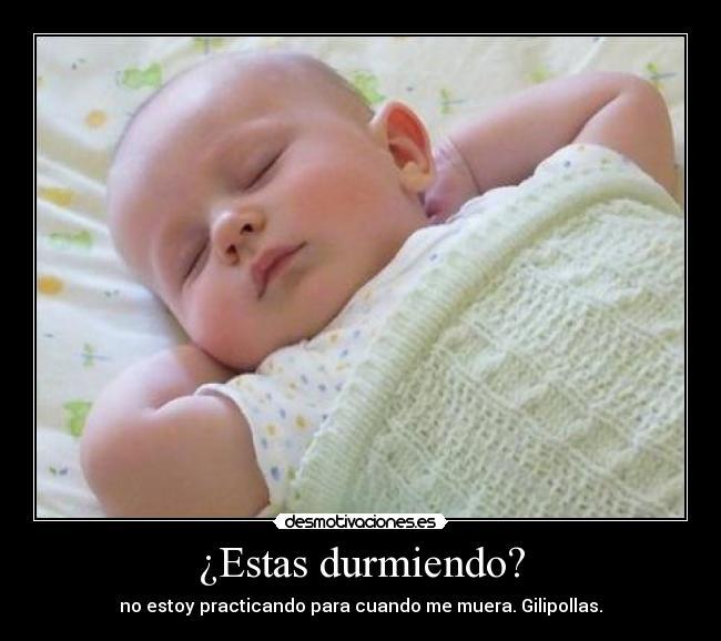 Frases de bebé durmiendo - Imagui