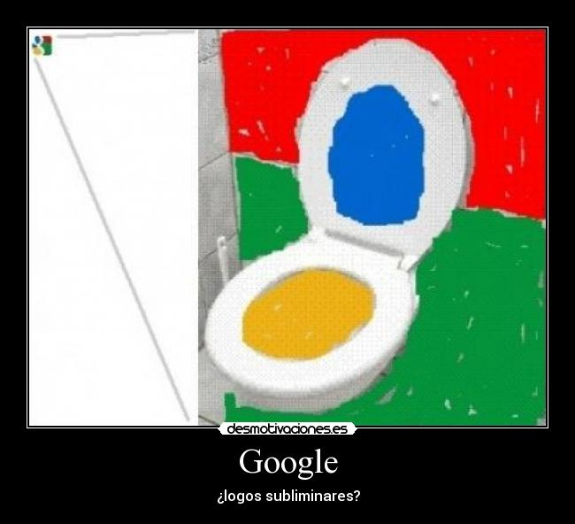 Google - ¿logos subliminares?
